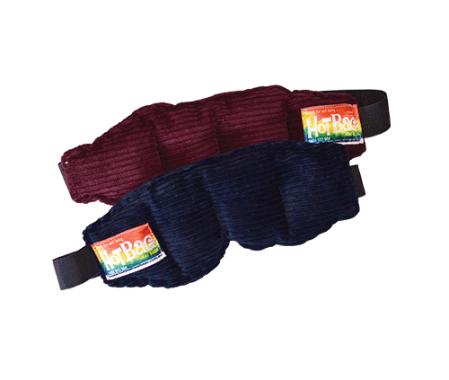 Eye pillow with straps